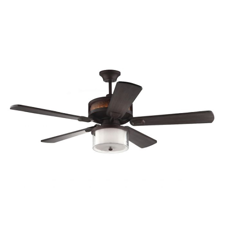 """Monte Carlo Artizan 56"""" ceiling fan in Roman bronze"""
