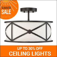 Save up to 30% on ceiling lights