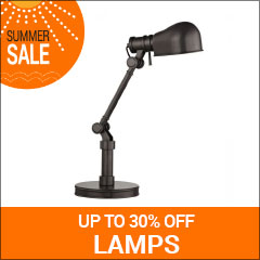 Save up to 30% on lamps