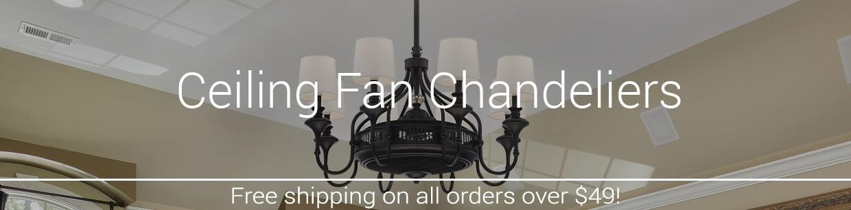 Ceiling Fan Chandeliers