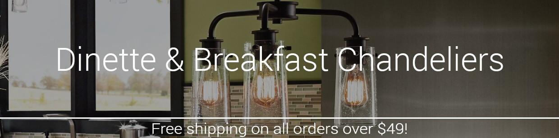 Dinette & Breakfast Chandeliers