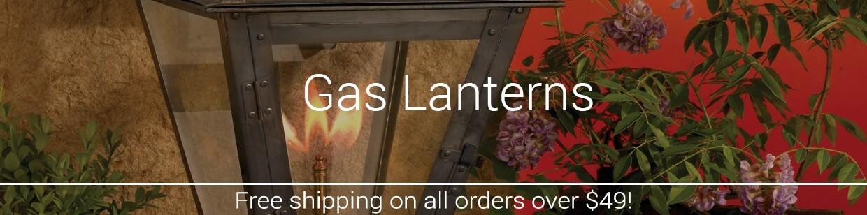 Outdoor Gas Lanterns