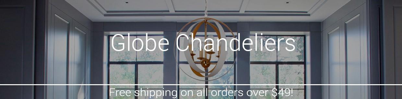Globe & Sphere Chandeliers