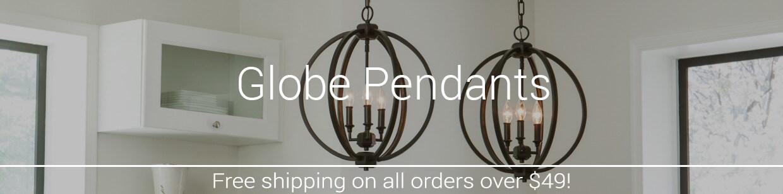 Globe pendant lights lightsonline globe pendants aloadofball Gallery