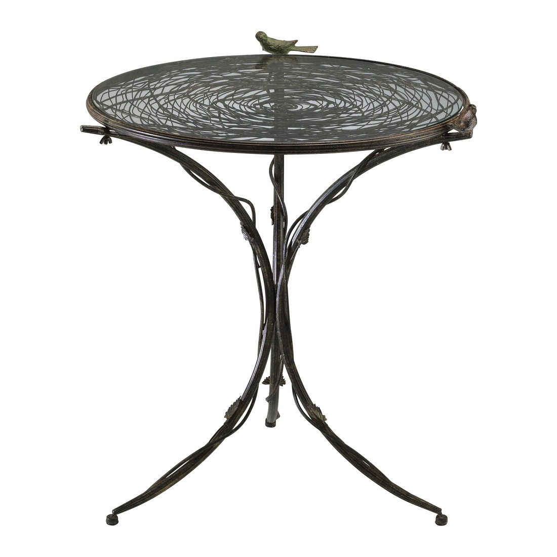 Cyan Design Bird Bistro 29 Table in Muted Rust
