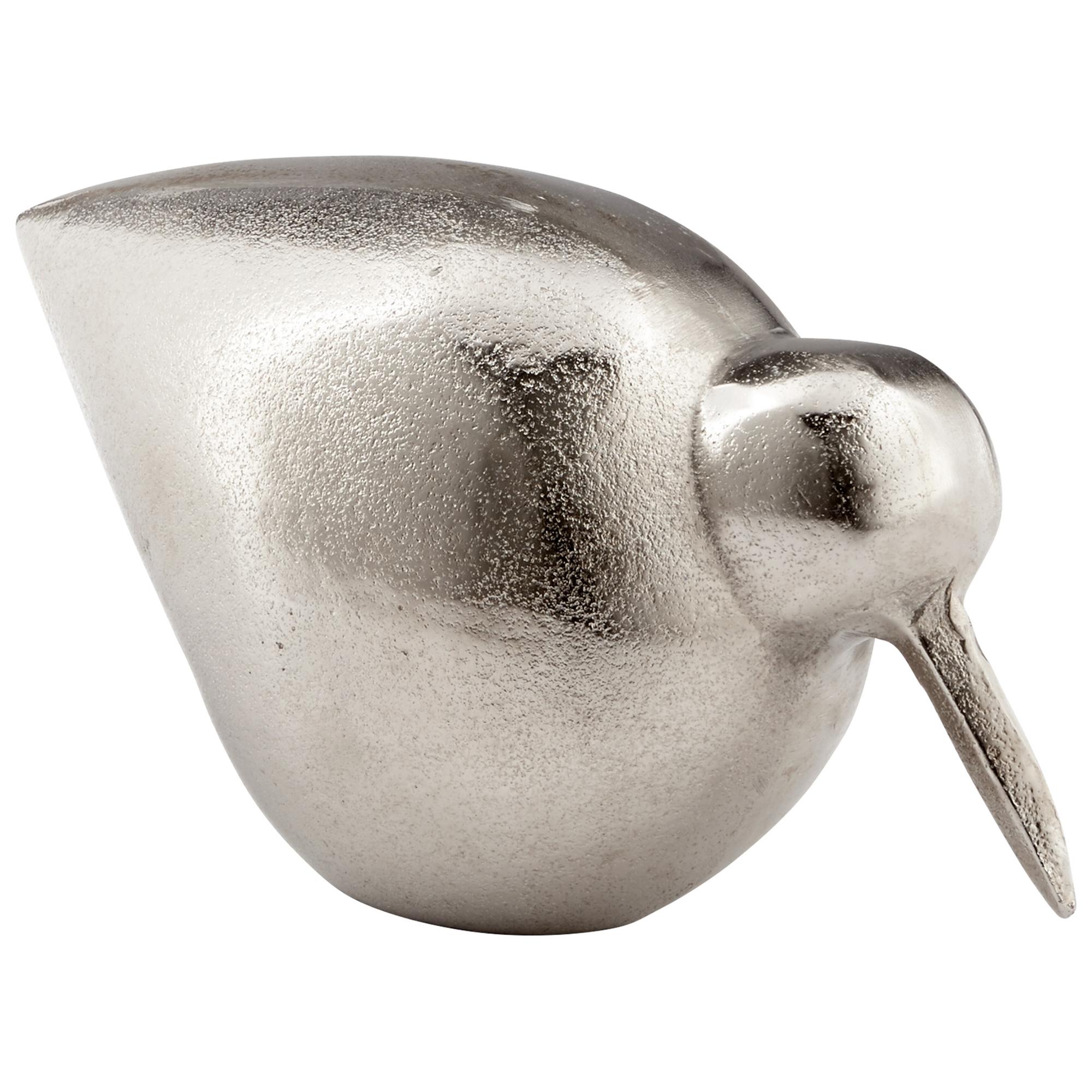 Cyan Design Tweetledee 10.5 Sculpture in Raw Nickel