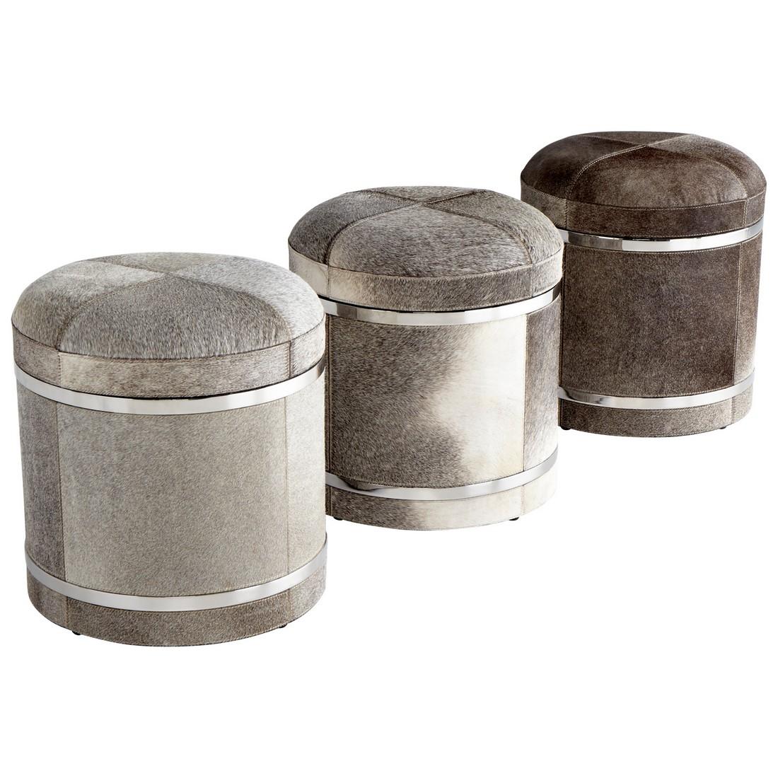 Cyan Design Casselton 18 Stool in Gray