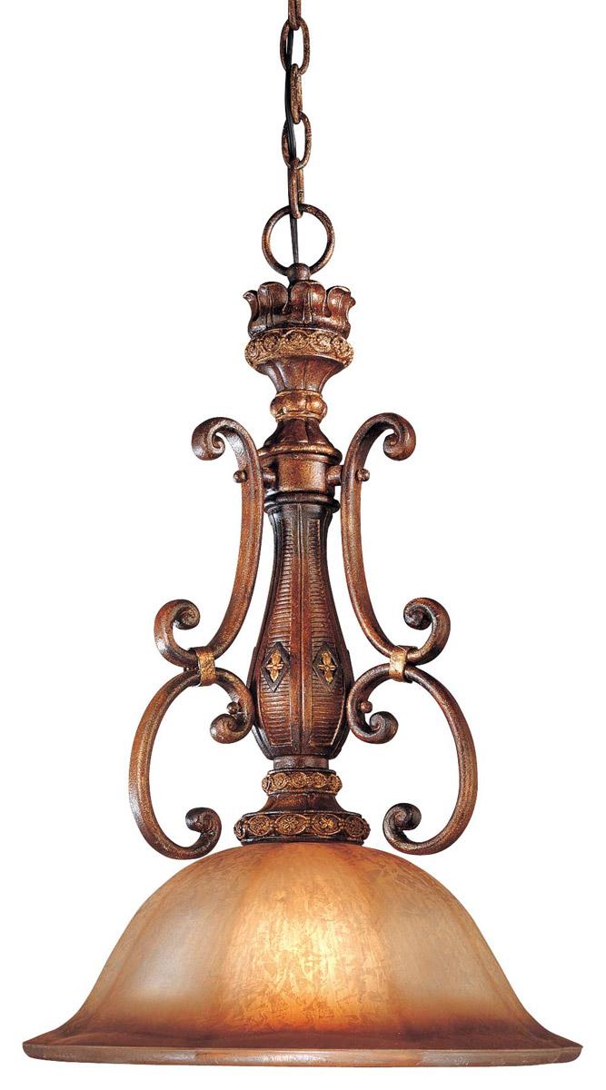 Minka Lavery Illuminati 1-Light Pendant in Bronze