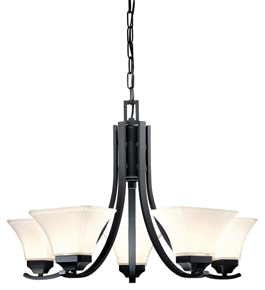 Minka Lavery Agilis 5-Light Chandelier in Black