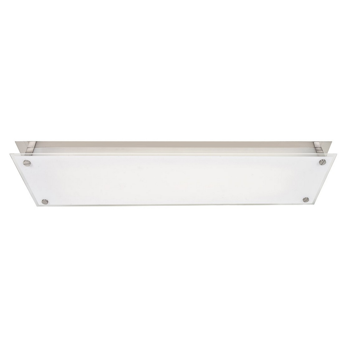 Access Lighting Vision Frosted Ceiling/Wall Sconce in Brushed Steel