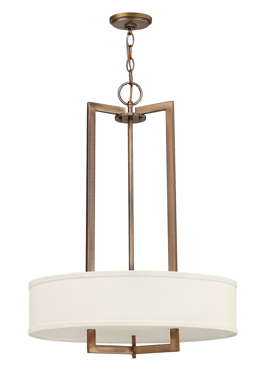 Hinkley Hampton Pendant 3Lt Chandelier