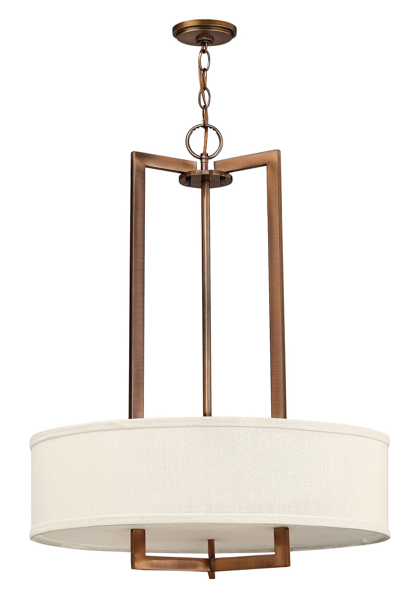 Hinkley Hampton Pendant 3 Lt Chandelier