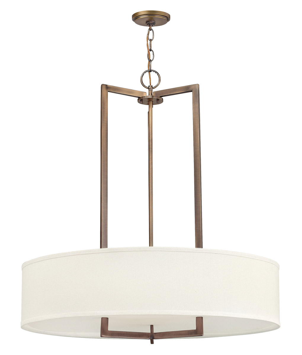 Hinkley Hampton Pendant 6Lt Chandelier