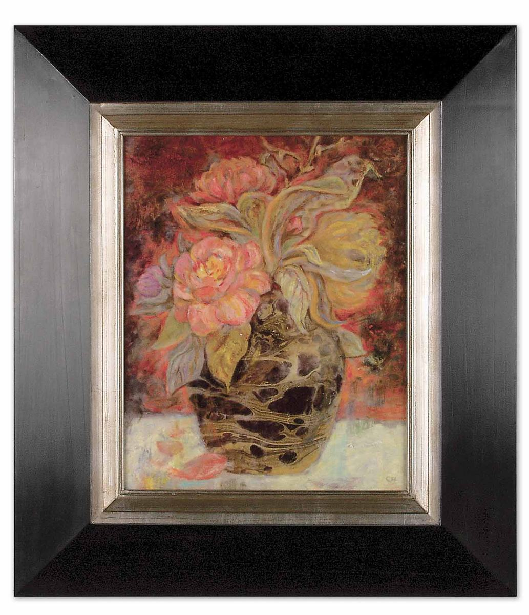 Uttermost Floral Bunda Framed Art