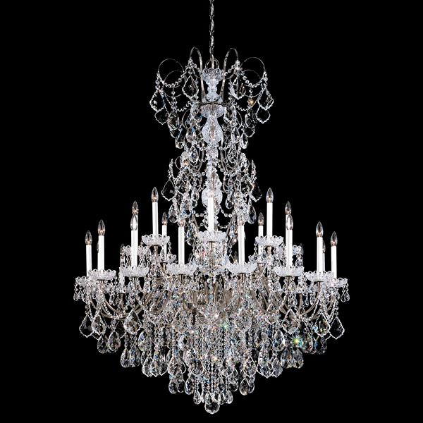 Schonbek New Orleans 24-Light Crystal Chandelier