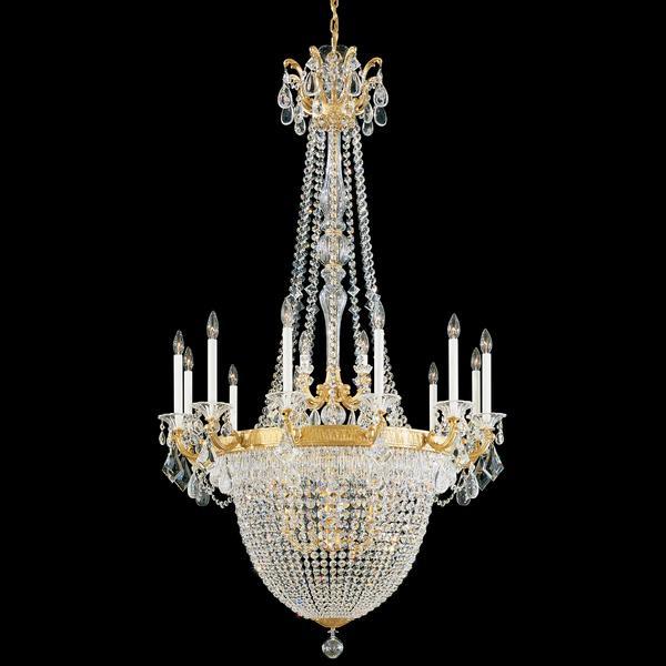 Schonbek La Scala Empire 12+10 Light Chandelier