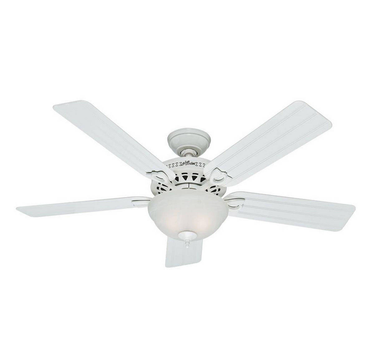 Hunter Beachcomber 52 Outdoor Ceiling Fan in White