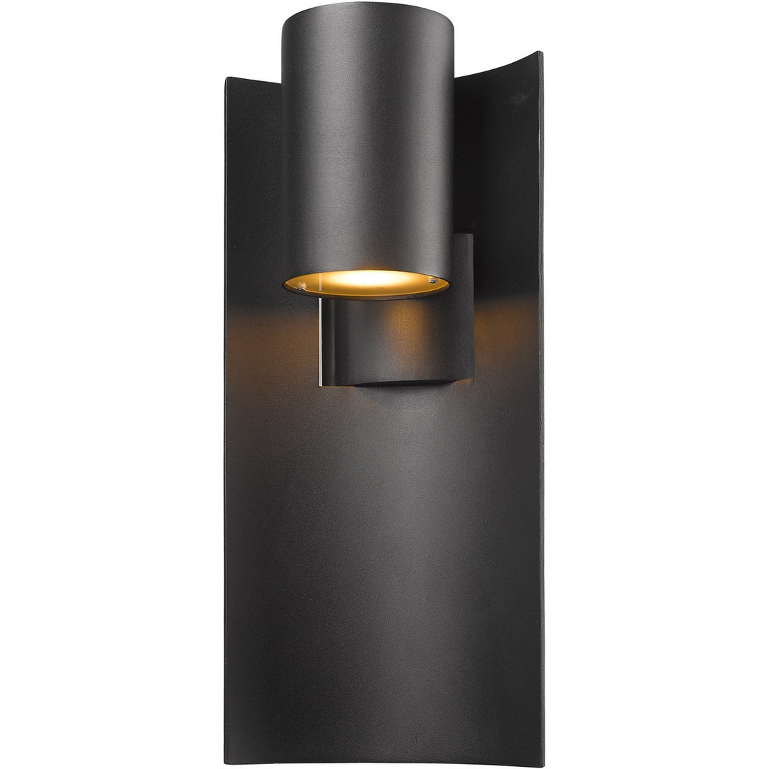 Brushed Aluminum Z-Lite 560CHB-BA-LED Outdoor LED Chain Hung Light