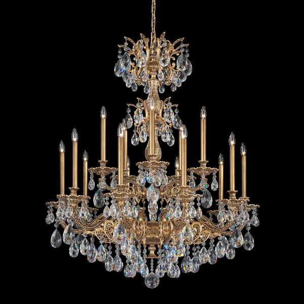 Schonbek Milano 15-Light Spectra Crystal Chandelier