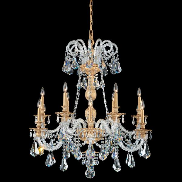Schonbek Isabelle 12-Light Crystal Chandelier