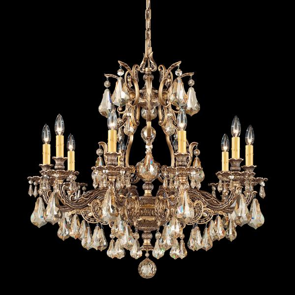 Schonbek Sophia 10-Light Crystal Chandelier