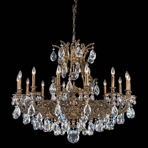 Schonbek Sophia 14-Light Crystal Chandelier