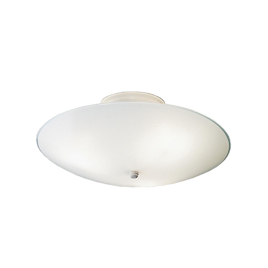 Kichler Ceiling Space 3-Light 15.25 6-Pack Flush Mount in White