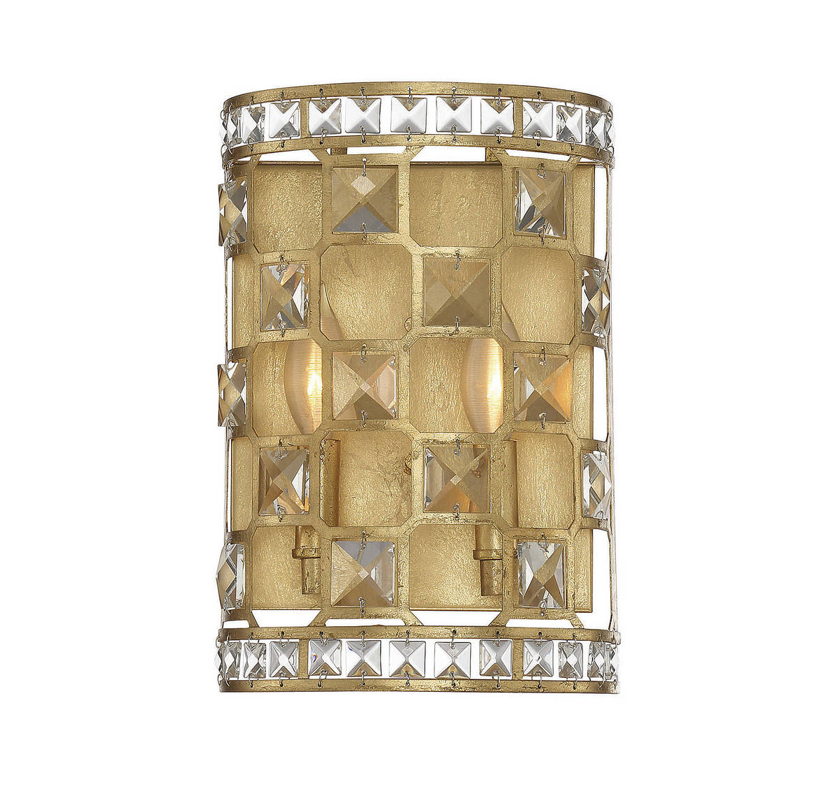 Savoy House Clarion 2-Light Wall Sconce in Gold Bullion