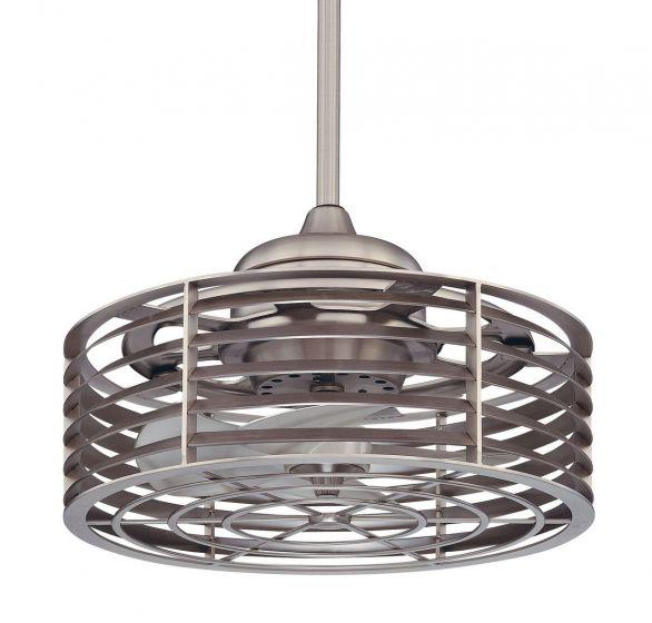Savoy House Sea Side Fan d'Lier in Satin Nickel