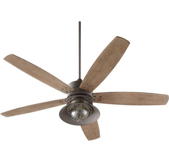 Quorum Ceiling Fan Wiring Diagram : Quorum portico quot blade patio fan in zinc outdoor