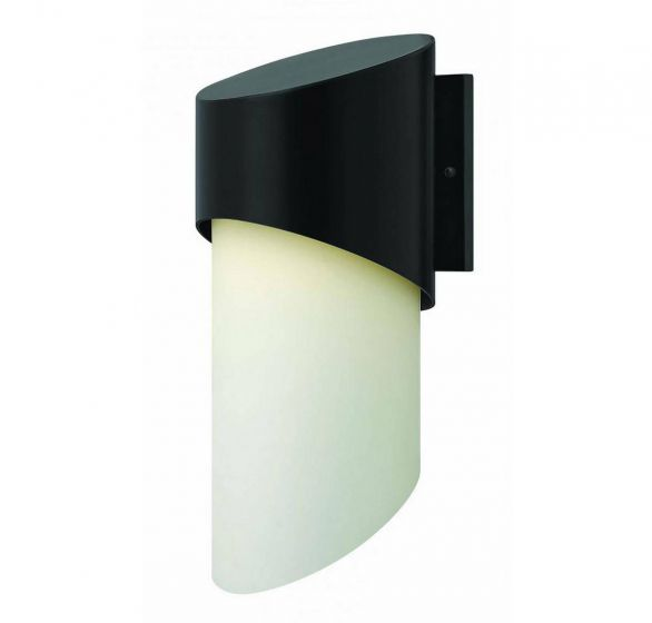 """Hinkley Solo 20.75"""" Outdoor Wall Sconce in Satin Black"""