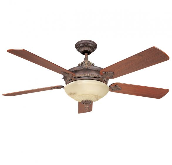 Savoy House The Bristol 2-Light Ceiling Fan in Autumn Gold