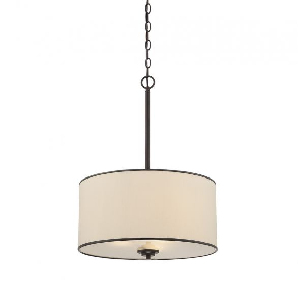 Savoy House Grove 3-Light Pendant in English Bronze