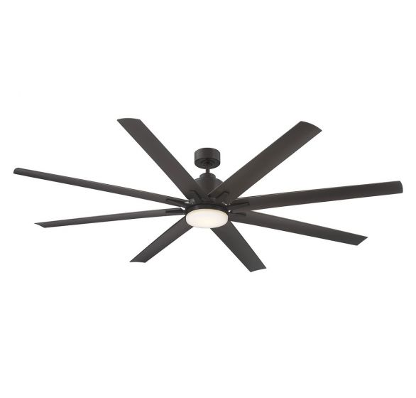 "Savoy House Bluffton 72"" 8 Blade Outdoor Ceiling Fan in English bronze"