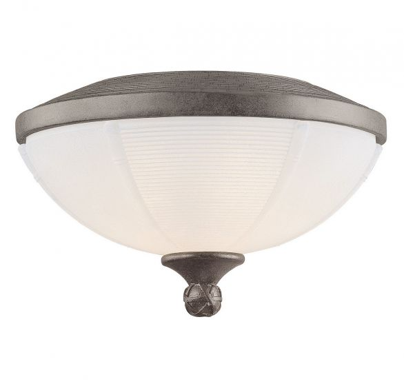 Savoy House Danville 3-Light Fan-Light Kit in Aged Wood