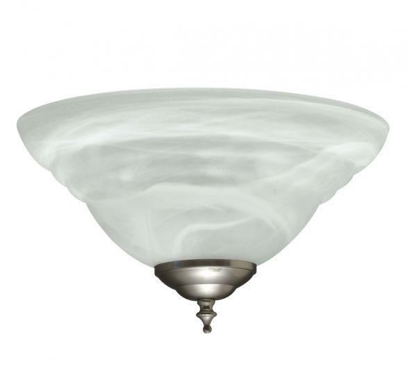 Savoy House Concord 2-Light Fan-Light Kit in Satin Nickel