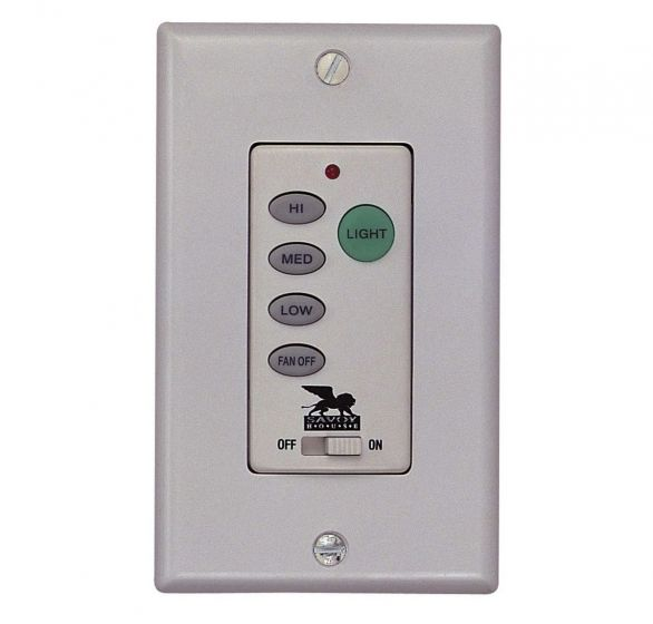 Savoy House Non-Reversible Fan/Light Wall Mounted Control