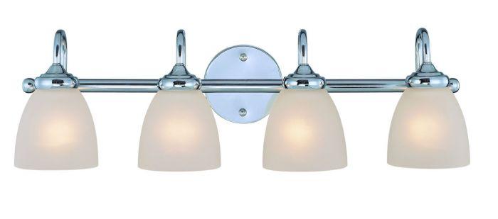"""Craftmade Spencer 4-Light 28"""" Bathroom Vanity Light In"""