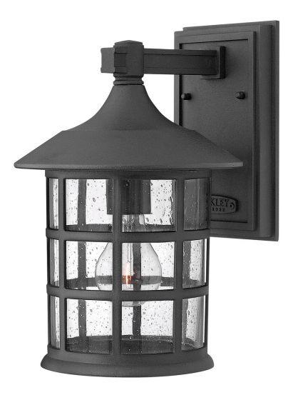 Hinkley Freeport 1-Light Outdoor Medium Wall Mount in Black