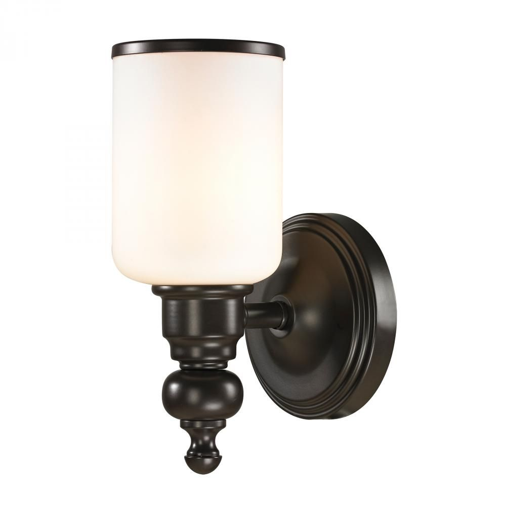 Bath Sconce In Oil Rubbed Bronze Tap To Expand