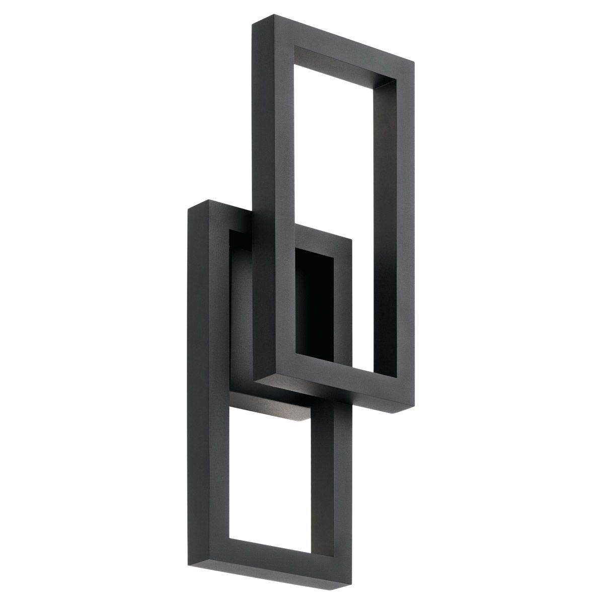 Kichler Rettangolo 19 Outdoor Wall Sconce In Textured Black Tap To Expand
