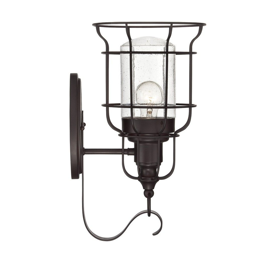 Savoy House Scout Large Outdoor Wall Lantern In English