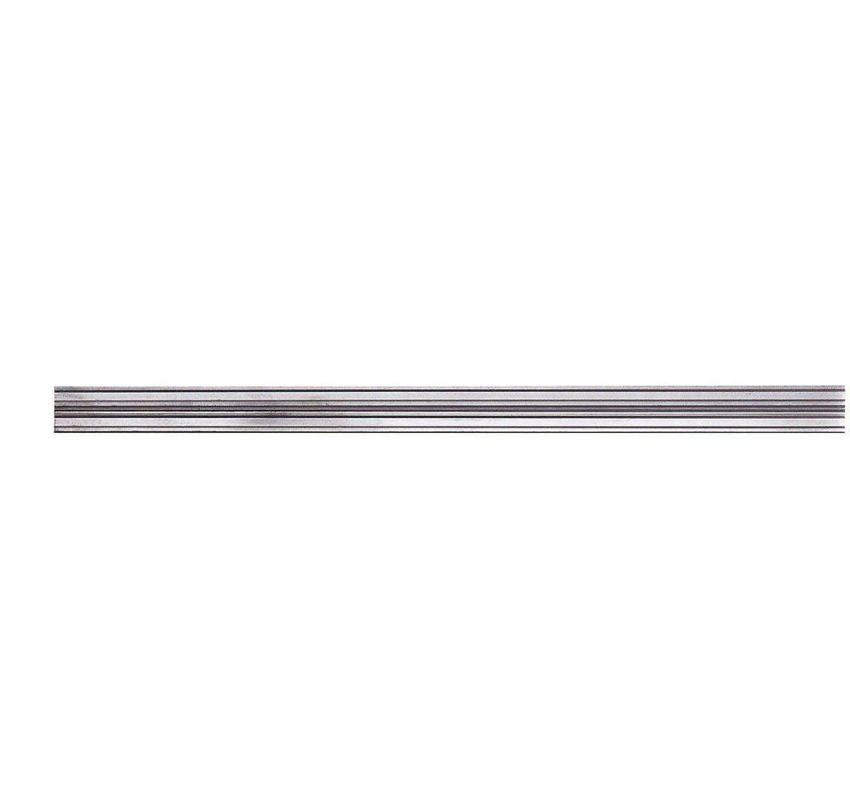 George Kovacs GK Lightrail Flex Rail In Brushed Nickel