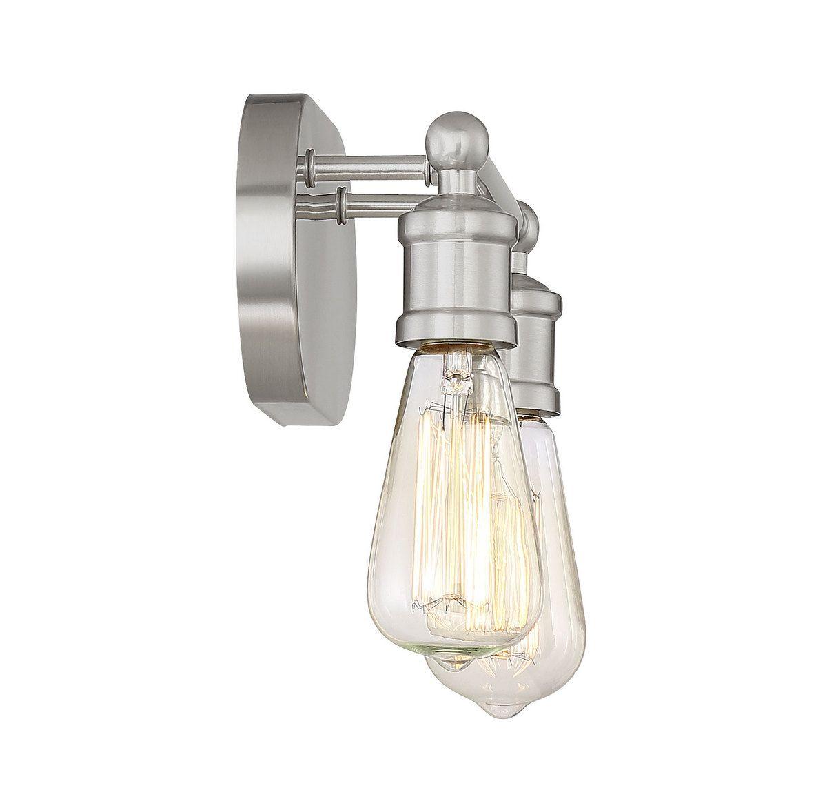 Trade Winds Lighting Industrial Small Bathroom Vanity