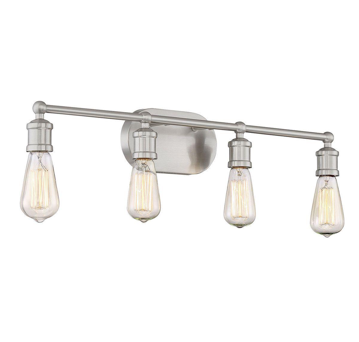 Trade Winds Lighting Industrial 4-Light Bathroom Vanity