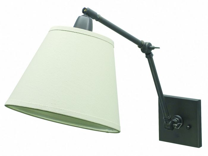 "House of Troy Direct Wire 20"" Library Lamp in Oil Rubbed Bronze Finish"