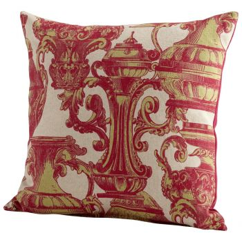 "Cyan Design Urn Your Keep 22"" Pillow in Pink"