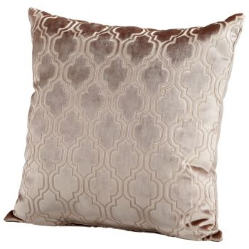 "Cyan Design Flight Pattern 22"" Pillow in Taupe"