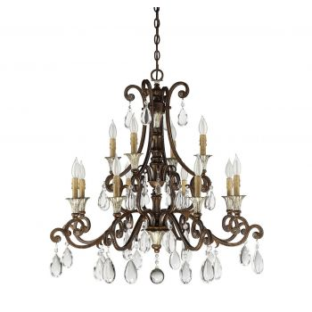 Savoy House St. Laurence French Country Chandelier