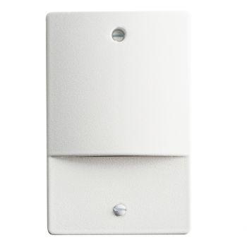 """Kichler Step and Hall 5"""" 4-Light 3000K LED Step Light in White"""